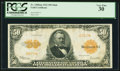 Large Size:Gold Certificates, Fr. 1200am $50 1922 Mule Gold Certificate PCGS Very Fine 30.. ...