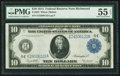 Large Size:Federal Reserve Notes, Fr. 923 $10 1914 Federal Reserve Note PMG About Uncirculated 55 EPQ.. ...