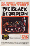 """Movie Posters:Science Fiction, The Black Scorpion (Warner Brothers, 1957). One Sheet (27"""" X 41"""").Science Fiction.. ..."""