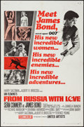 """Movie Posters:James Bond, From Russia with Love (United Artists, 1964). One Sheet (27"""" X 41"""") Style A. James Bond.. ..."""