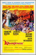 "Movie Posters:Adventure, Khartoum (United Artists, 1966). One Sheet (27"" X 41"") New CampaignStyle A. Adventure.. ..."
