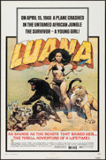 "Movie Posters:Adventure, Luana (Capital Productions, 1973). One Sheet (27"" X 41"").Adventure.. ..."