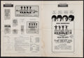 "Movie Posters:Rock and Roll, Help! (United Artists, 1965). Uncut Pressbook (16 Pages, 13.5"" X 18""). Rock and Roll.. ..."