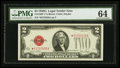 Small Size:Legal Tender Notes, Fr. 1508* $2 1928G Legal Tender Note. PMG Choice Uncirculated 64.. ...