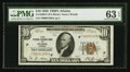 Small Size:Federal Reserve Bank Notes, Fr. 1860-F $10 1929 Federal Reserve Bank Note. PMG Choice Uncirculated 63 EPQ.. ...