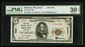 National Bank Notes:Maryland, Midland, MD - $5 1929 Ty. 1 The First NB Ch. # 5331. ...