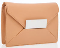 Michael Kors Beige Leather Clutch Bag