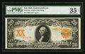 Large Size:Gold Certificates, Fr. 1183 $20 1906 Gold Certificate PMG Choice Very Fine 35 Net.. ...
