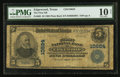 National Bank Notes:Texas, Edgewood, TX - $5 1902 Plain Back Fr. 605 The First NB Ch. # 10624. ...