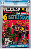Silver Age (1956-1969):War, Our Army at War #164 Boston pedigree (DC, 1966) CGC NM- 9.2 White pages....