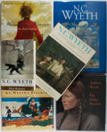 Books:Art & Architecture, [N. C. Wyeth and Andrew Wyeth]. Six Modern Books About the Wyeths. Various publishers and editions. Original bindings and al... (Total: 6 Items)