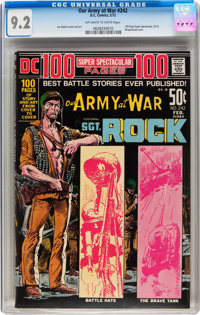 Our Army at War #242 (DC, 1972) CGC NM- 9.2 Off-white to white pages