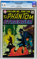 Silver Age (1956-1969):Horror, The Phantom Stranger #1 (DC, 1969) CGC NM 9.4 Off-white pages....