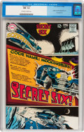Silver Age (1956-1969):Superhero, Secret Six #1 (DC, 1968) CGC NM- 9.2 Off-white to white pages....
