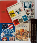 Books:Art & Architecture, [N. C. Wyeth, Norman Rockwell, and numerous other illustrators]. Six Illustrated Books About American History. Various publi... (Total: 7 Items)