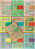 Books:Children's Books, [Children's Literature]. Ten Books in the Through Golden WindowsSeries. Grolier, 1958. Original illustrated bindings. Very ...(Total: 10 Items)