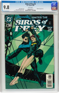 Modern Age (1980-Present):Superhero, Birds of Prey #8 (DC, 1999) CGC NM/MT 9.8 White pages....