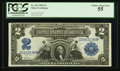 Large Size:Silver Certificates, Fr. 251 $2 1899 Silver Certificate PCGS Choice About New 55.. ...