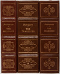Books:Literature Pre-1900, William Shakespeare. Group of Three Volumes of Shakespeare'sCollected Works including The Tragedies, The Comedies...(Total: 3 Items)