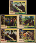 "Movie Posters:Adventure, Elephant Boy (United Artists, 1937). Lobby Cards (5) (11"" X 14"").Adventure.. ... (Total: 5 Items)"