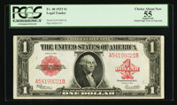 Fr. 40 $1 1923 Legal Tender PCGS Apparent Choice About New 55