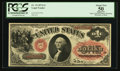 Large Size:Legal Tender Notes, Fr. 19 $1 1874 Legal Tender PCGS Apparent About New 50.. ...