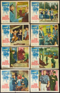 "Movie Posters:War, The Great Escape (United Artists, 1963). Lobby Card Set of 8 (10.5"" X 14, 11"" X 14""). War.. ... (Total: 8 Items)"