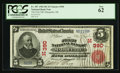 Marquette, MI - $5 1902 Red Seal Fr. 587 The First NB Ch. # (M)390
