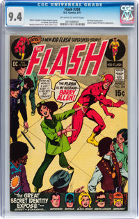 The Flash #204 (DC, 1971) CGC NM 9.4 Off-white to white pages