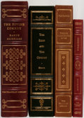 Books:Literature Pre-1900, [Literature]. Group of Four Titles, Including Three Published byFranklin. Franklin/State Street, [1977-1981, 2001]. Four ti...(Total: 4 Items)