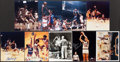 Basketball Collectibles:Photos, Basketball Greats Signed Photographs Lot of 3 (5 Unsigned Included- 9 Total)....