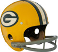 "Football Collectibles:Helmets, 1971 Green Bay Packers Authentic ""Riddell Kra-Lite"" Helmet...."