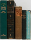 Books:Biography & Memoir, Group of Five Books of Collected Works or Letters. Books ofcollected works or letters of James Joyce, Samuel Johnson, Jerry...(Total: 5 Items)