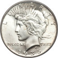 Peace Dollars, 1935-S $1 MS66 PCGS. CAC....