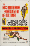 "Movie Posters:Mystery, Witness for the Prosecution (United Artists, 1958). One Sheet (27"" X 41""). Mystery.. ..."