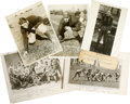 Football Collectibles:Photos, College Football Vintage Photographs Lot of 5. Group of five vintage photos offered here features early 20th-century colleg...