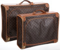 Luxury Accessories:Travel/Trunks, Louis Vuitton Set of Two: Classic Monogram Canvas Soft-SidedSuitcases. ...