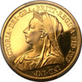 Great Britain, Great Britain: Victoria gold £5 1893,...