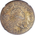 Early Half Dollars, 1795 50C 2 Leaves, O-104, R.4 -- Improperly Cleaned -- NGC Details.AU....