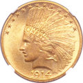 Indian Eagles, 1914 $10 MS64+ NGC....