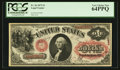 Large Size:Legal Tender Notes, Fr. 26 $1 1875 Legal Tender PCGS Very Choice New 64PPQ.. ...