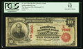 National Bank Notes:Pennsylvania, Pittsburgh, PA - $10 1902 Red Seal Fr. 613 The Keystone NB Ch. #(E) 7560. ...