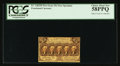Fractional Currency:First Issue, Fr. 1282SP 25¢ First Issue Narrow Margin Face PCGS Choice About New 58PPQ.. ...