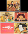 "Movie Posters:Musical, The Mikado by Alan Mardon (Warner Brothers, 1967). Lobby Card Setsof 5 (3) & Lobby Cards (3) (11"" X 14""). Musical.. ... (Total:18 Items)"