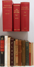 Books:Biography & Memoir, Group of 16 Books on Literature. Various publishers and dates.includes collections of quotations, literary theory and criti...(Total: 16 Items)