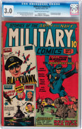 Golden Age (1938-1955):War, Military Comics #2 (Quality, 1941) CGC GD/VG 3.0 Cream to off-whitepages....