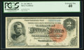 Large Size:Silver Certificates, Fr. 242 $2 1886 Silver Certificate PCGS Extremely Fine 40.. ...