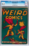 Golden Age (1938-1955):Superhero, Weird Comics #13 (Fox Features Syndicate, 1941) CGC VG+ 4.5 Cream to off-white pages....