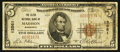 National Bank Notes:Minnesota, Madison, MN - $5 1929 Ty. 1 The Klein NB Ch. # 13561. ...