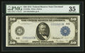 Large Size:Federal Reserve Notes, Fr. 1039a $50 1914 Federal Reserve Note PMG Choice Very Fine 35.. ...